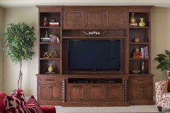 A TOWNHOUSE MEDIA ROOM