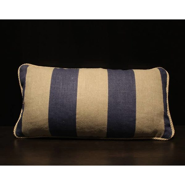Awning Stripe Pillow 1 - Interiology Design Co.