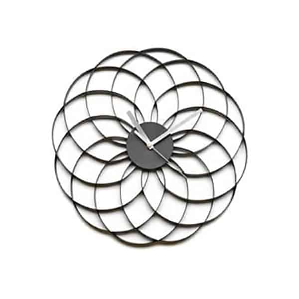 Flower Wall Clock 1 - Interiology Design Co.