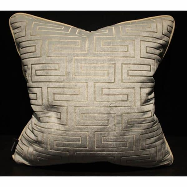 Greek Key Pillow 1 - Interiology Design Co.