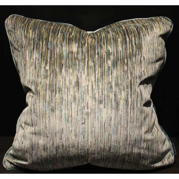 Velvet Strie Pillow 1 - Interiology Design Co.