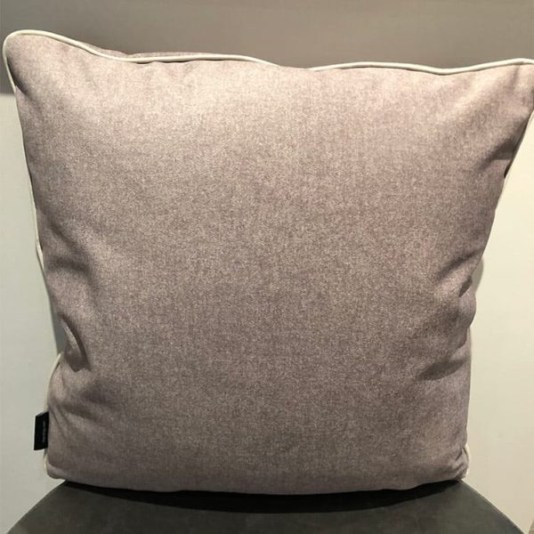 Velvet and Leather Pillow 1 - Interiology Design Co.