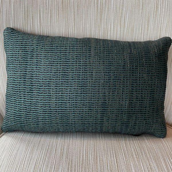 Striped Lumbar Pillow 1 - Interiology Design Co.